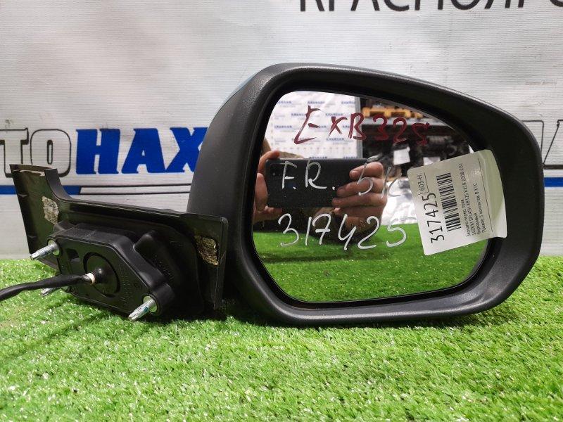 Зеркало Suzuki Splash XB32S K12B 2008 переднее правое Правое, 5 контактов. В ХТС