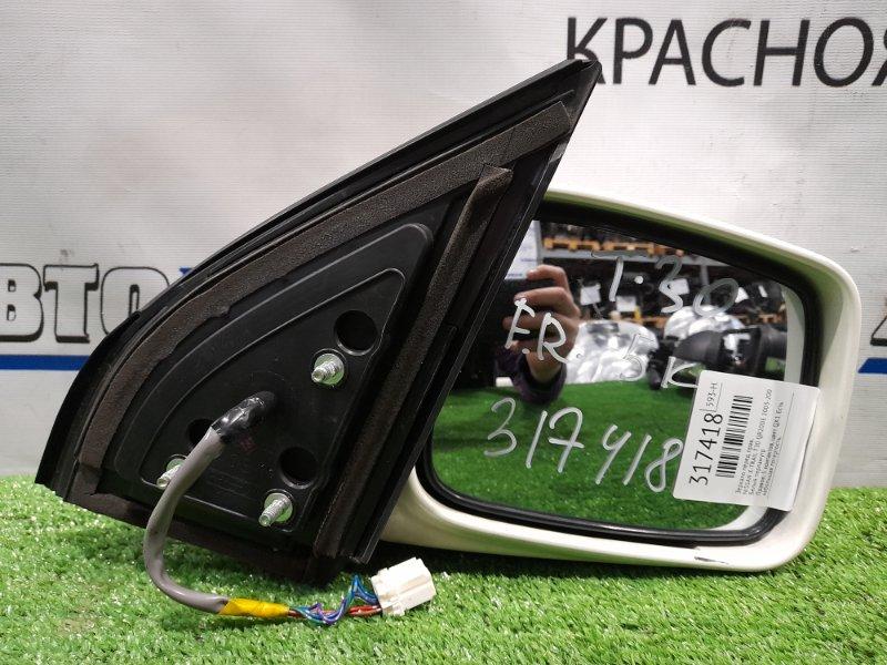 Зеркало Nissan X-Trail T30 QR20DE 2003 переднее правое Правое, 5 контактов, цвет QX1. Есть небольшая