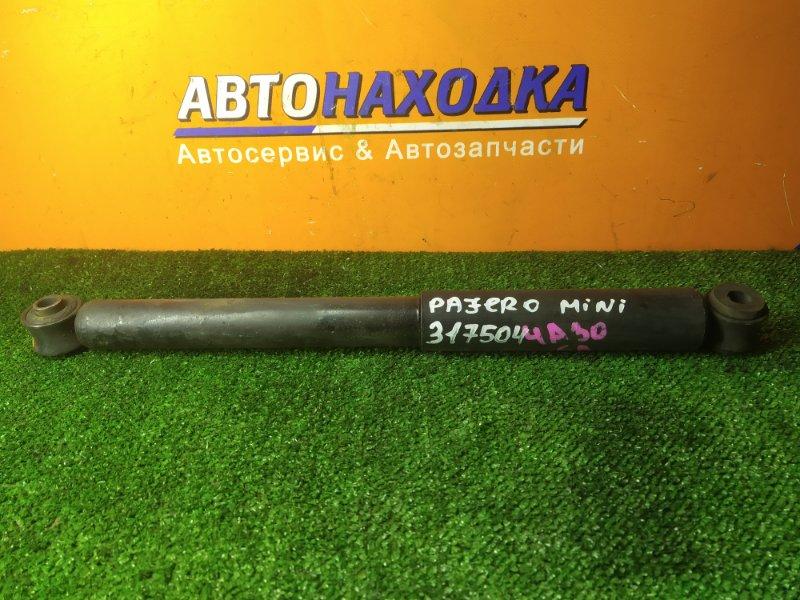 Амортизатор Mitsubishi Pajero Mini H56A 4A30 задний MR150550