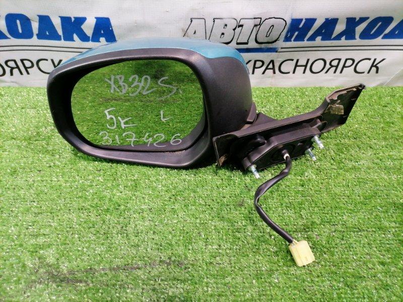 Зеркало Suzuki Splash XB32S K12B 2008 переднее левое Левое, 5 контактов. В ХТС
