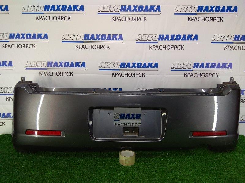 Бампер Nissan Otti H92W 3G83 2006 задний задний, темно-серый (A38), с катафотами (1197-228), потертости