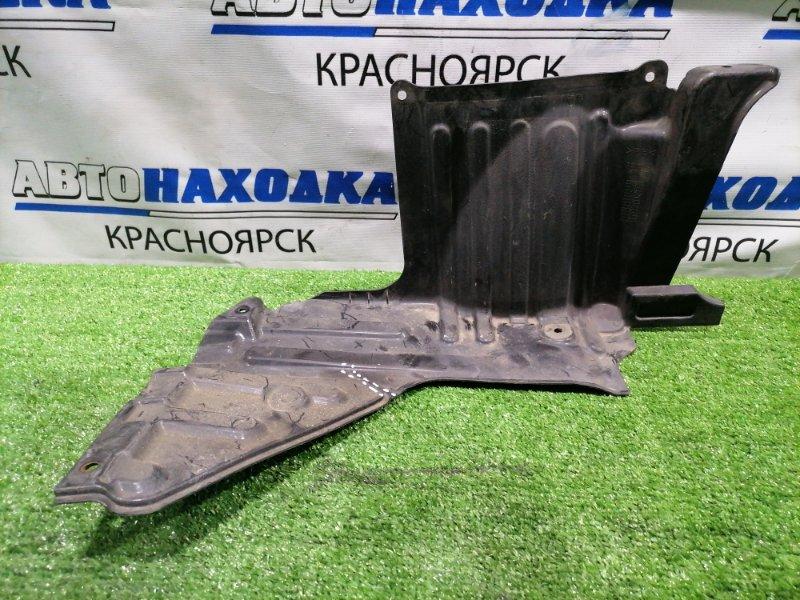 Защита двс Suzuki Splash XB32S K12B 2008 передняя правая Правая, есть надрыв.