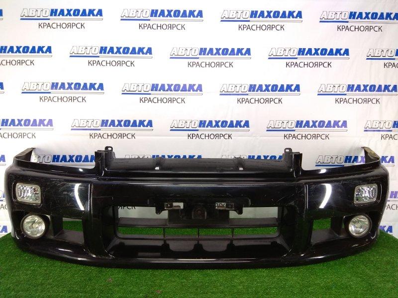 Бампер Nissan Skyline ER34 RB25DE 1998 передний передний, черный, 1 модель дорестайлинг, с