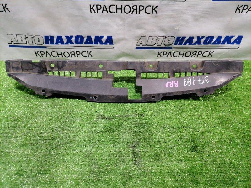 Накладка на телевизор Subaru Legacy BR9 EJ25 2009 передняя На рамку радиатора, где замок.