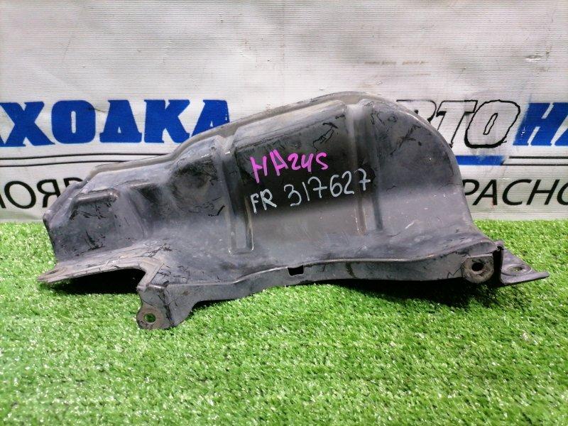 Защита двс Mazda Carol HB24S K6A 2004 передняя правая Правая, боковая