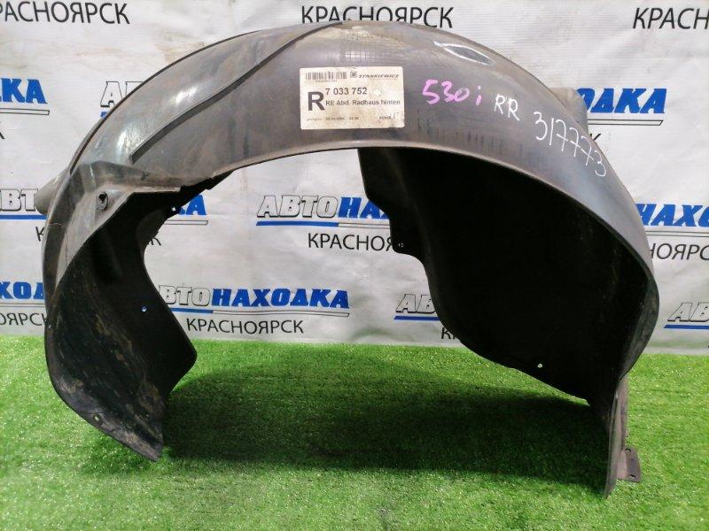 Подкрылок Bmw 530I E60 N52B30 2003 задний правый задний правый, под M бампер.