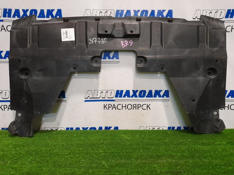 Защита двс Subaru Legacy BR9 EJ25 2009 сплошная, цельная.