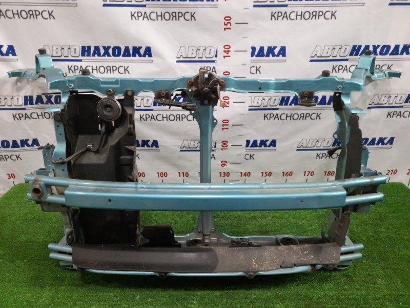 Рамка радиатора Suzuki Splash XB32S K12B 2008 передняя с усилителем и замком капота