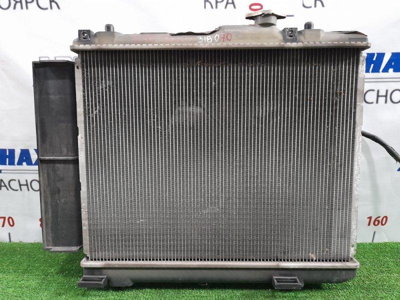 Радиатор двигателя Suzuki Splash XB32S K12B 2008 с дифузором м вентилятором