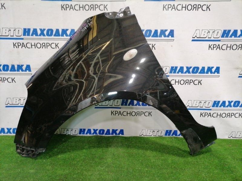 Крыло Suzuki Splash XB32S K12B 2008 переднее левое Переднее левое, с клипсой, повторителем. В ХТС.