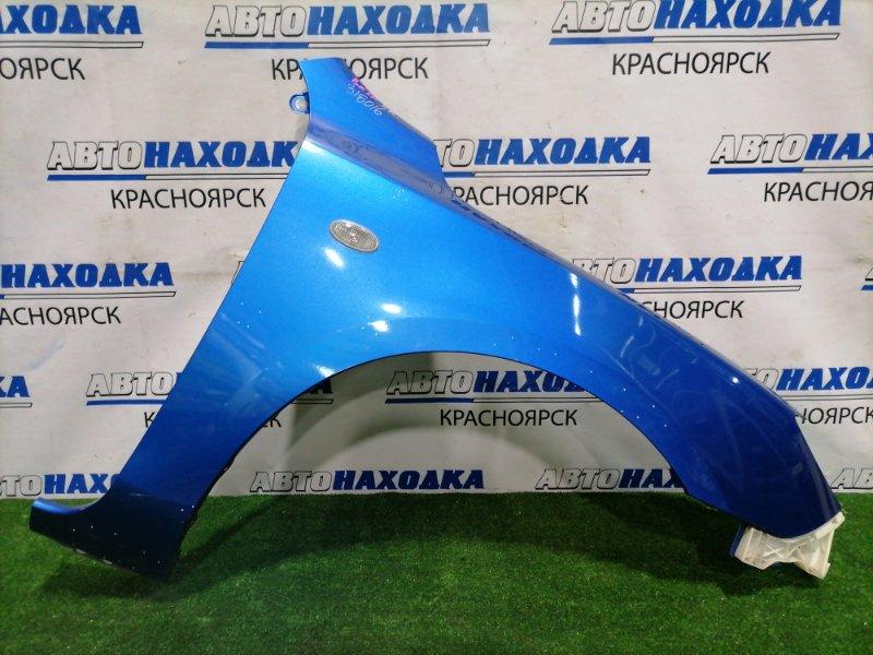 Крыло Mazda Axela BK5P ZY-VE 2003 переднее правое Переднее правое, хетчбэк, цвет 27B, с клипсой,