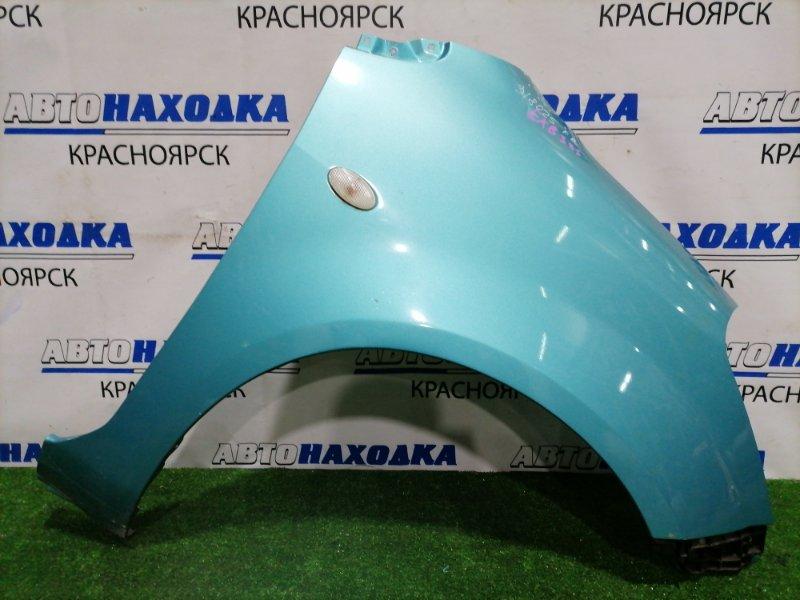 Крыло Suzuki Splash XB32S K12B 2008 переднее правое Переднее правое, с клипсой, повторителем. Есть