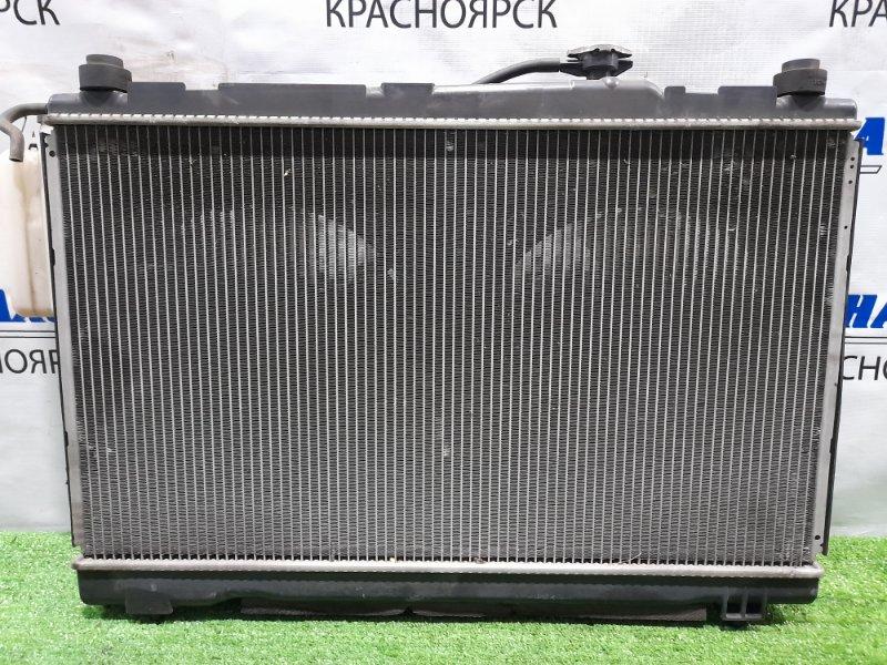 Радиатор двигателя Toyota Ipsum ACM21W 2AZ-FE 2003 с диффузором и вентиляторами + бачок