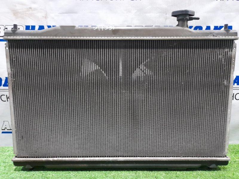 Радиатор двигателя Honda Cr-V RE3 K24A 2006 под АКПП, с диффузорами и вентиляторами