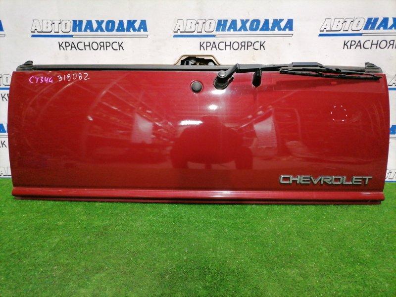 Дверь задняя Chevrolet Blazer CT34G L35 1998 задняя нижняя Нижняя часть, в сборе. В ХТС.