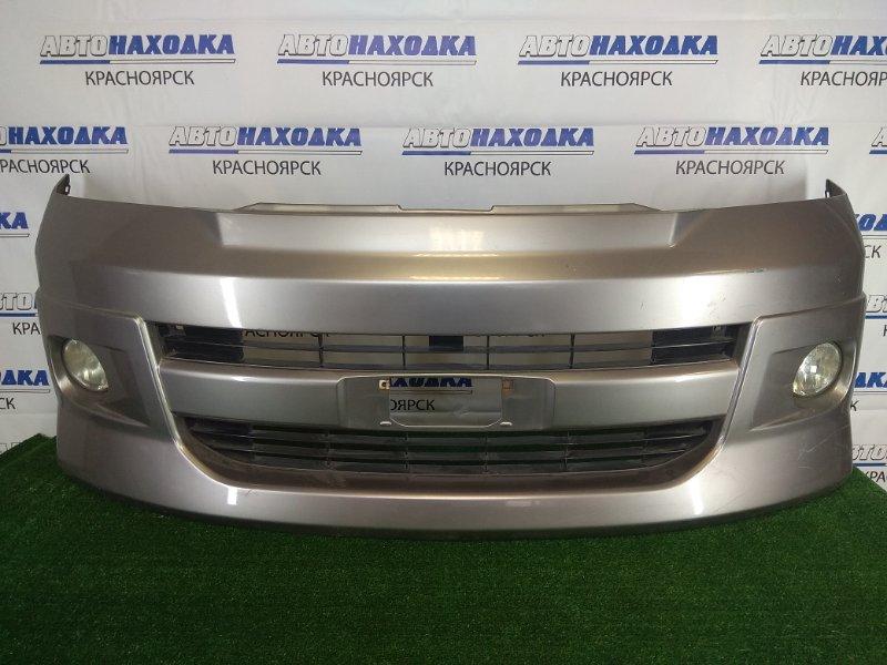 Бампер Toyota Voxy AZR65G 1AZ-FSE 2001 передний передний, серый, 1 модель (дорестайлинг), с
