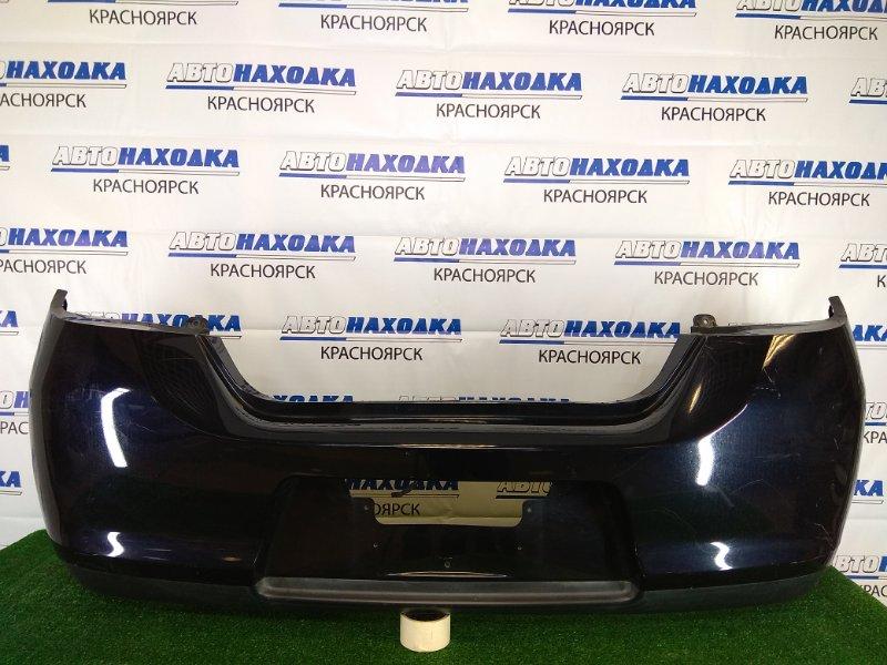Бампер Nissan Tiida C11 HR15DE 2008 задний задний, черный, 2 модель (рестайлинг), хэтчбек,