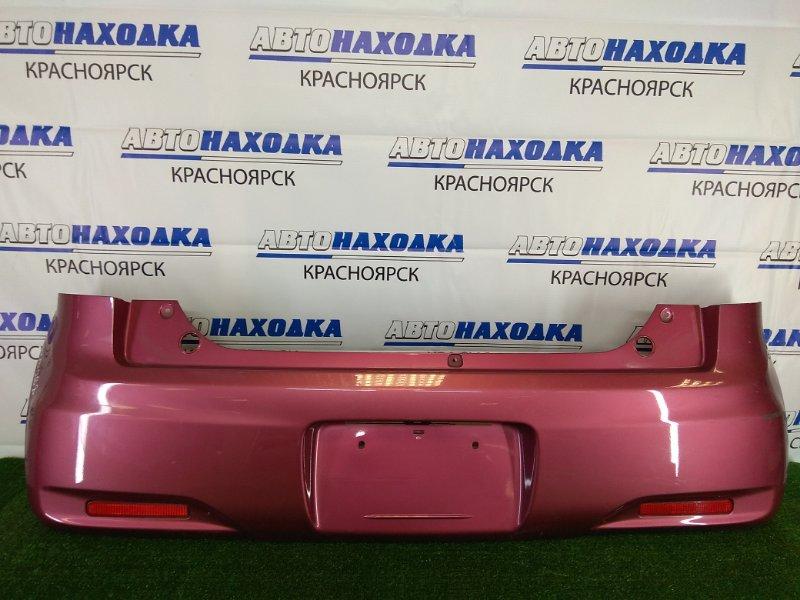 Бампер Suzuki Mr Wagon MF33S R06A 2011 задний задний, розовый (ZSE), комплектация WIT, с катафотами,