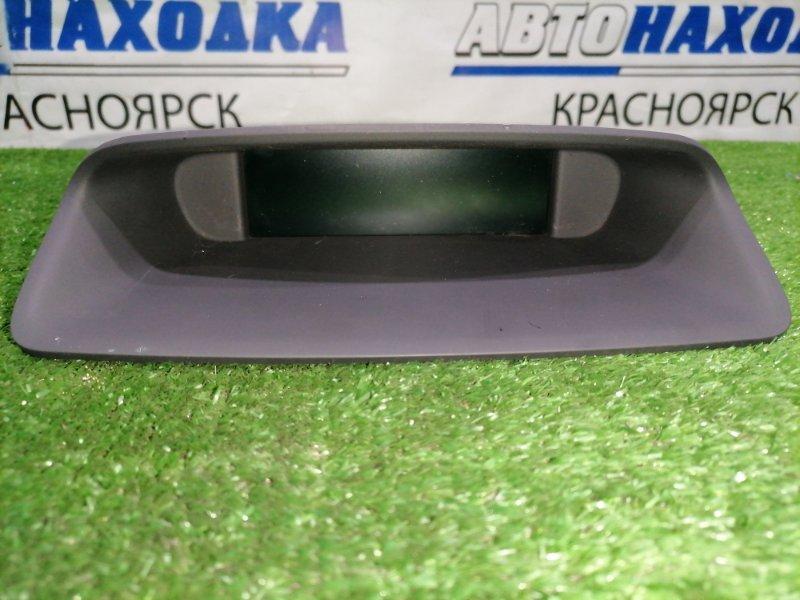 Дисплей Peugeot 308 T7 EP6DT 2007 информационный дисплей с центральной консоли