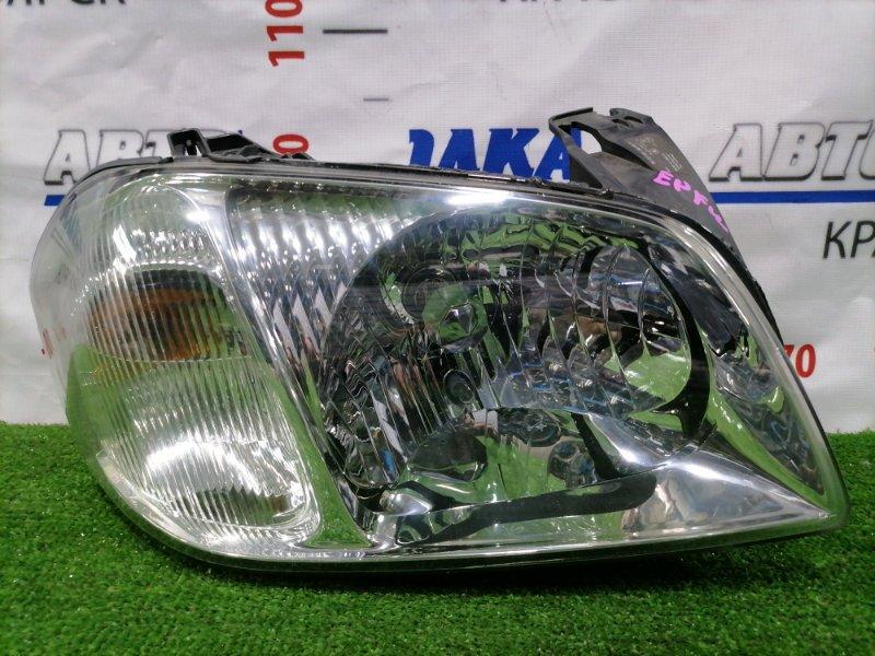 Фара Mazda Tribute EPFW AJ 2000 передняя правая 9655 Правая, 9655, белый повторитель. Есть паутинка.