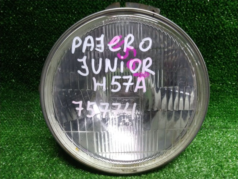 Фара Mitsubishi Pajero Junior H57A 4A30T 6L12 КРУГЛАЯ