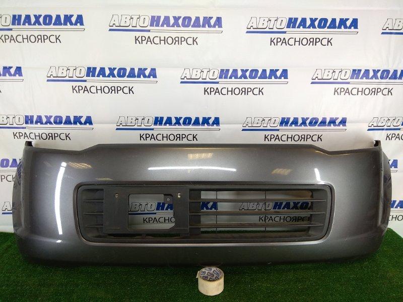Бампер Nissan Otti H92W 3G83 2006 передний передний, серый (A38), 1 модель (дорестайлинг), царапины,