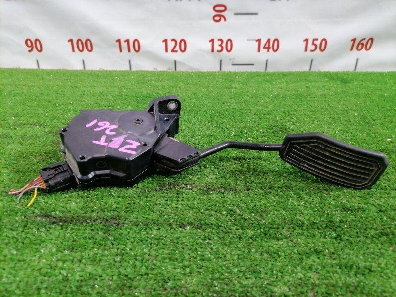 Педаль Toyota Allion ZRT261 3ZR-FAE 2007 газа, электронная, 6 контактов,