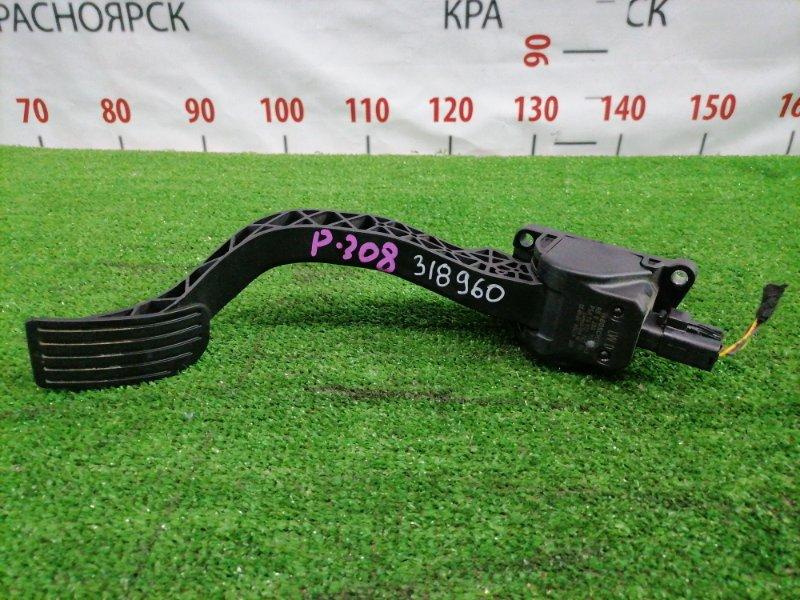 Педаль Peugeot 308 T7 EP6DT 2007 9651270280 газа, электронная, 5 контактов, с фишкой
