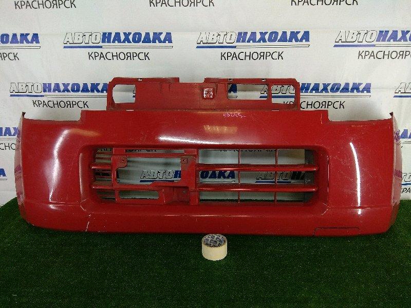 Бампер Mazda Carol HB24S K6A 2004 передний передний, красный, 1 модель (дорестайлинг) 5 поколение,