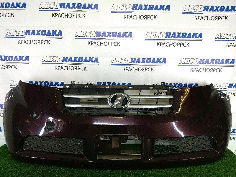 Бампер Toyota Bb QNC20 K3-VE 2005 передний передний, бордовый ( R54), 1 модель (дорестайлинг), с