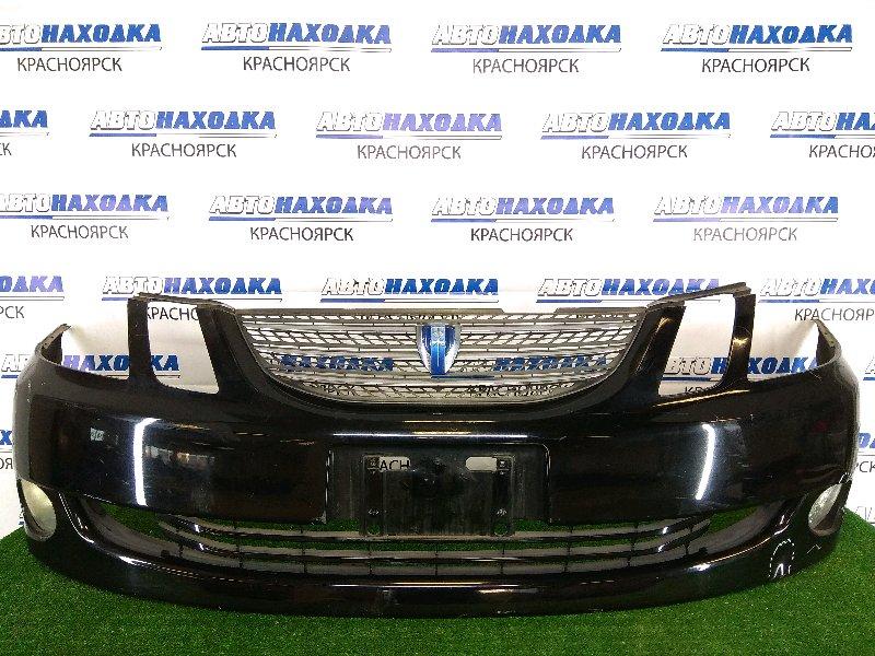 Бампер Toyota Mark Ii Blit GX110W 1G-FE 2004 передний передний, 2 модели рестайлинг, черный, с