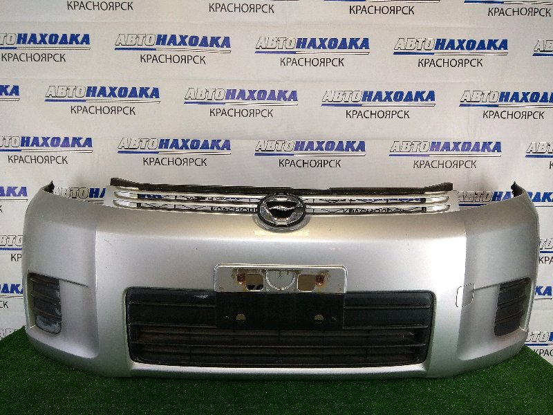 Бампер Toyota Corolla Rumion NZE151N 1NZ-FE 2007 передний передний, серебристый (1F7), 1 модель
