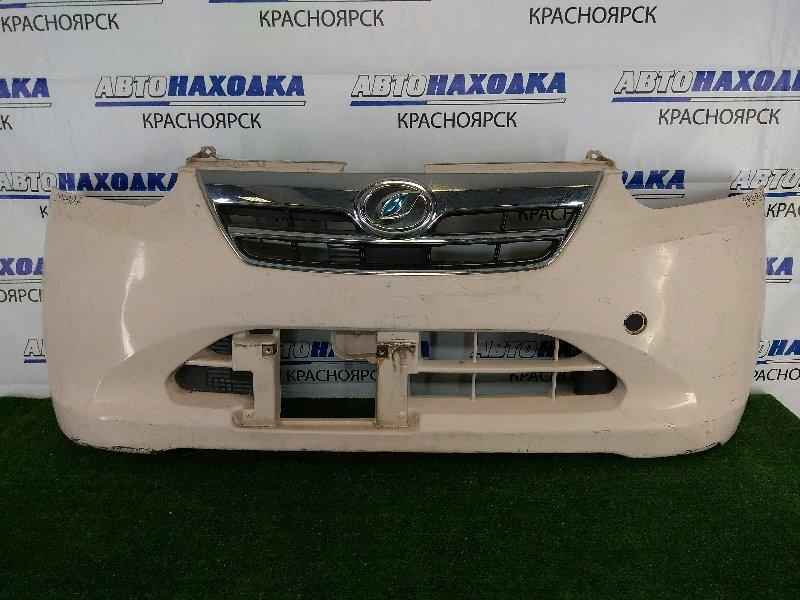 Бампер Daihatsu Mira E:s LA300S KF 2011 передний передний, бежевый, 1 модель (дорестайлинг), с