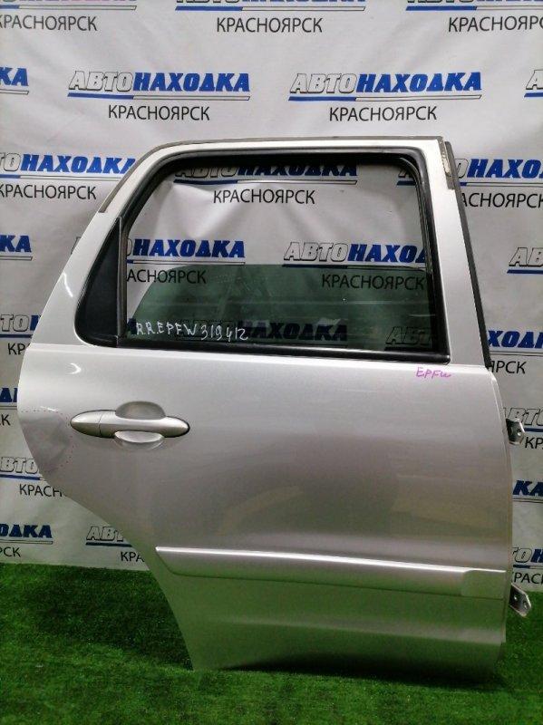 Дверь Mazda Tribute EPFW AJ 2000 задняя правая Задняя правая, в сборе, не под расширение, цвет 22V.