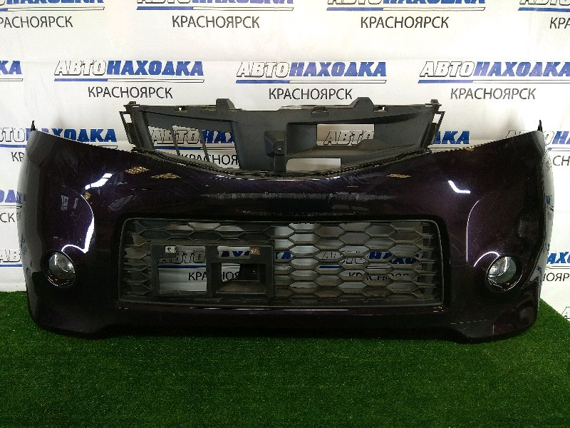 Бампер Nissan Roox ML21S K6A 2009 передний передний, фиолетовый, комплектация Highway Star, с