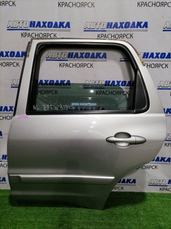 Дверь Mazda Tribute EPFW AJ 2000 задняя левая Задняя левая, в сборе, не под расширение, цвет 22V.