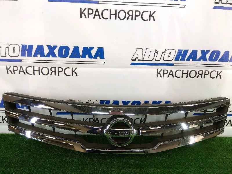 Решетка радиатора Nissan Roox ML21S K6A 2009 передняя комплектация Highway Star, хром ОК