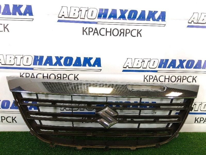 Решетка радиатора Suzuki Cervo HG21S K6A 2006 передняя небольшие потертости по хрому