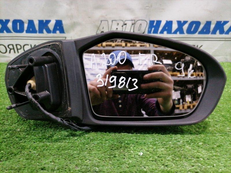 Зеркало Mercedes-Benz A200 W169 M266 E20 2004 переднее правое Правое, 9 контактов, с повторителем, цвет