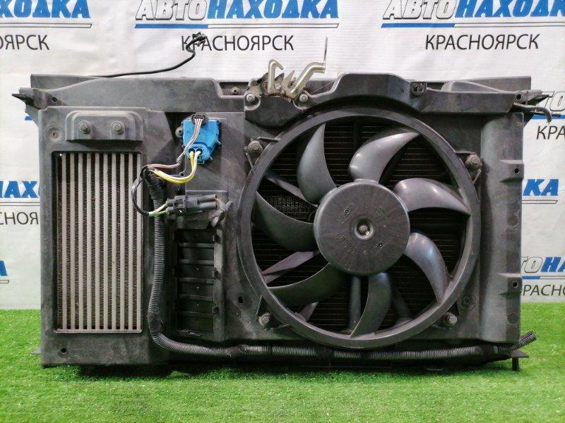 Рамка радиатора Peugeot 308 T7 EP6DT 2007 В сборе. (турбо) Комплект: Рамка-кассета + радиатор