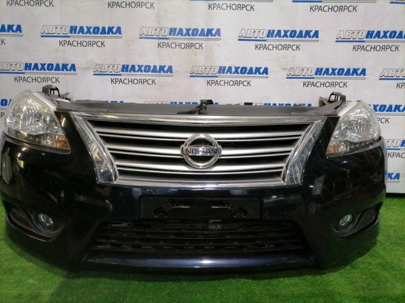 Nose cut Nissan Sylphy TB17 MRA8DE 2012 передний nose cut в сборе, темно-синий (Col. B20G) : фары 2 штуки галоген