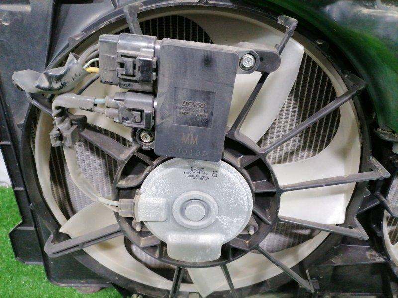 Радиатор двигателя Mazda Axela BM2FP SH-VPTR 2013 В сборе с диффузором, вентиляторами и блоками