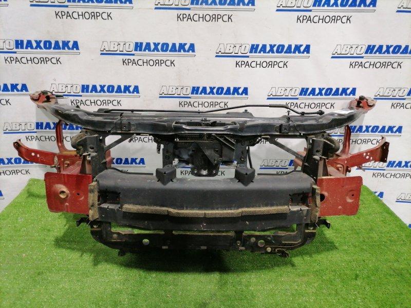 Рамка радиатора Mazda Axela BM2FP SH-VPTR 2013 с усилителем и замком капота