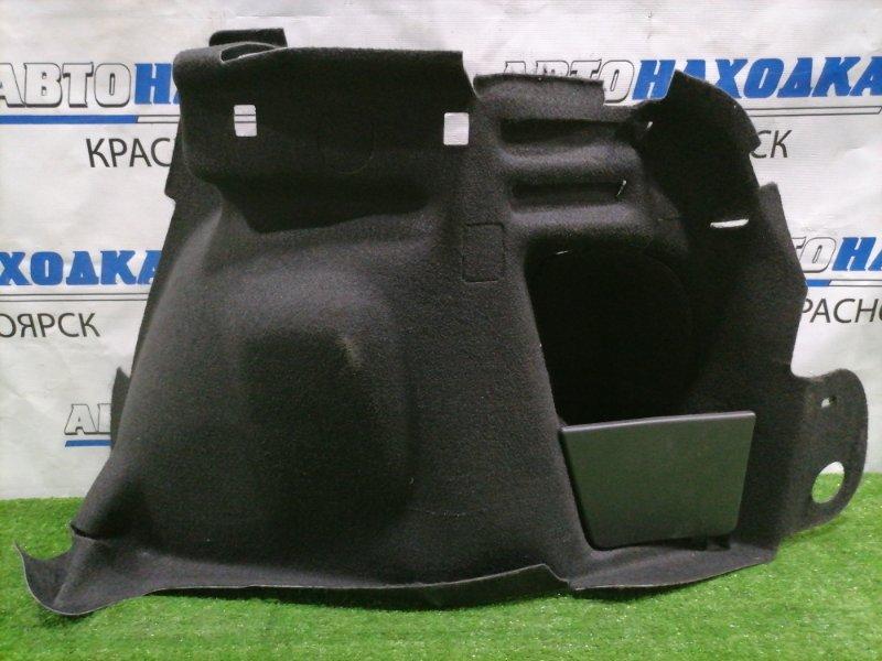 Обшивка багажника Peugeot 308 T7 EP6DT 2007 задняя правая нижняя Правая, боковая, есть заломы.