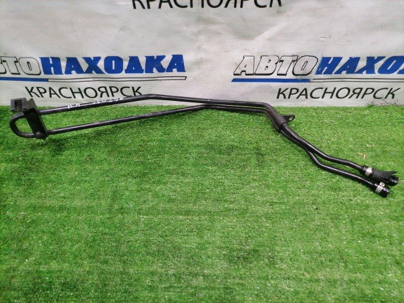 Радиатор масляный Audi A4 B7 ALT 2004 на гидроусилитель