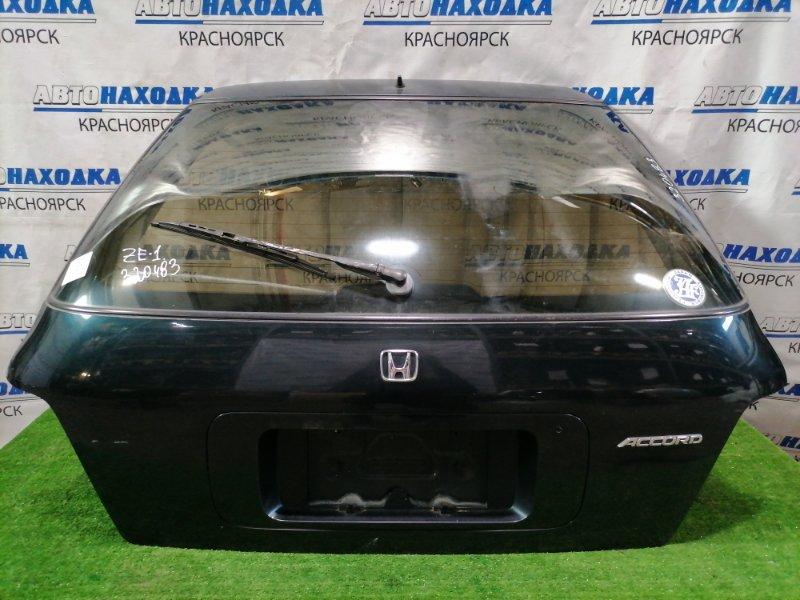 Дверь задняя Honda Accord CE1 F22B 1994 задняя В сборе, Дефекты ЛКП (потертости).