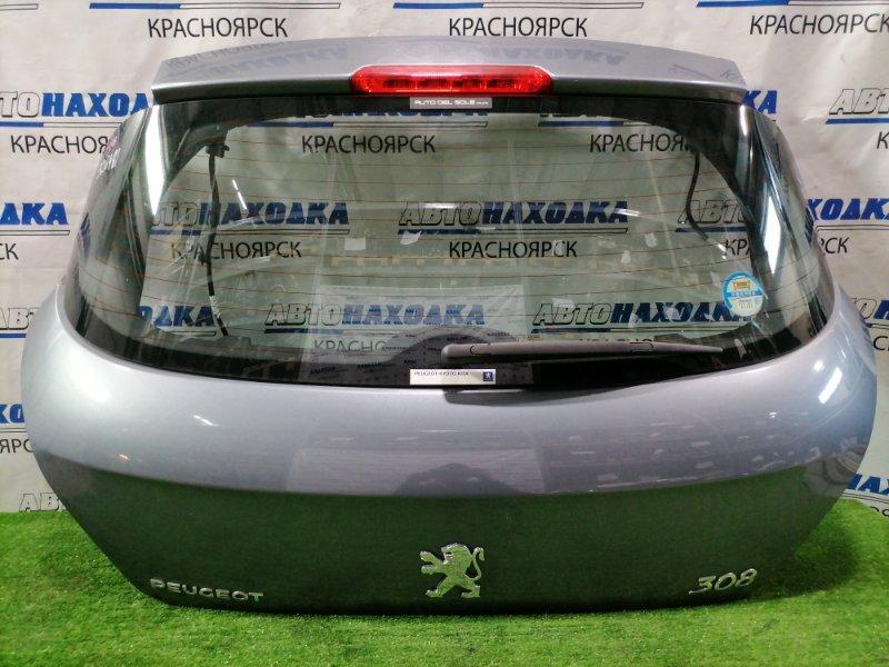 Дверь задняя Peugeot 308 T7 EP6DT 2007 задняя В сборе, цвет KTH. в ХТС.