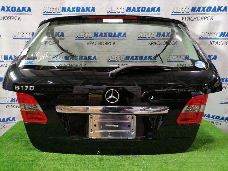 Дверь задняя Mercedes-Benz B170 245.232 266.940 2005 задняя в сборе, цвет 191U, Есть мелкий скол краски.