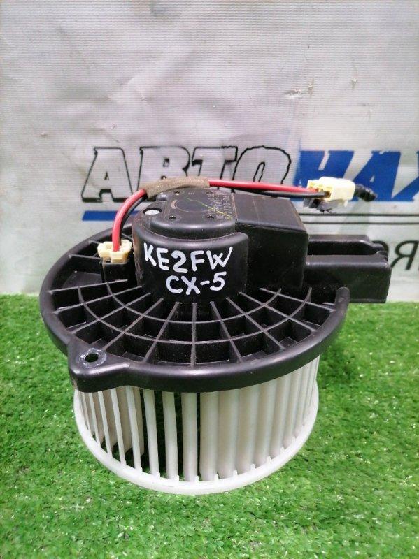 Мотор печки Mazda Cx-5 KE2FW SH-VPTS 2012 872700-0691 2 контакта с фишкой. Правый руль.