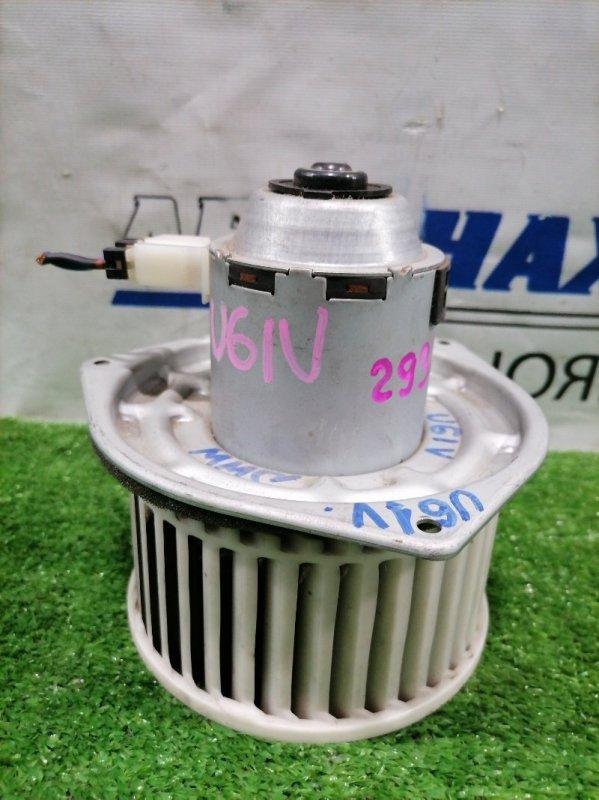Мотор печки Mitsubishi Minicab U61V 3G83 1999 CSM1100-01 2 контакта с фишкой. Правый руль